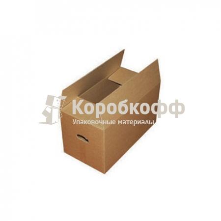 Картонная коробка (средняя) 500х300х300 с ручками