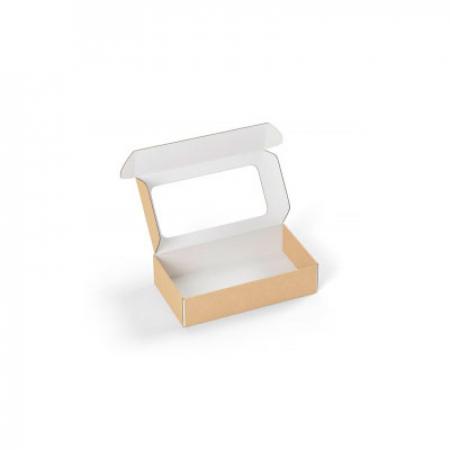 Коробка с прозрачным окошком 160x90x40