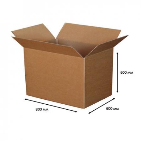 Картонные коробки БОЛЬШИЕ (максимум) 800x600x600