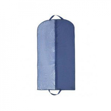 Чехол для одежды синий